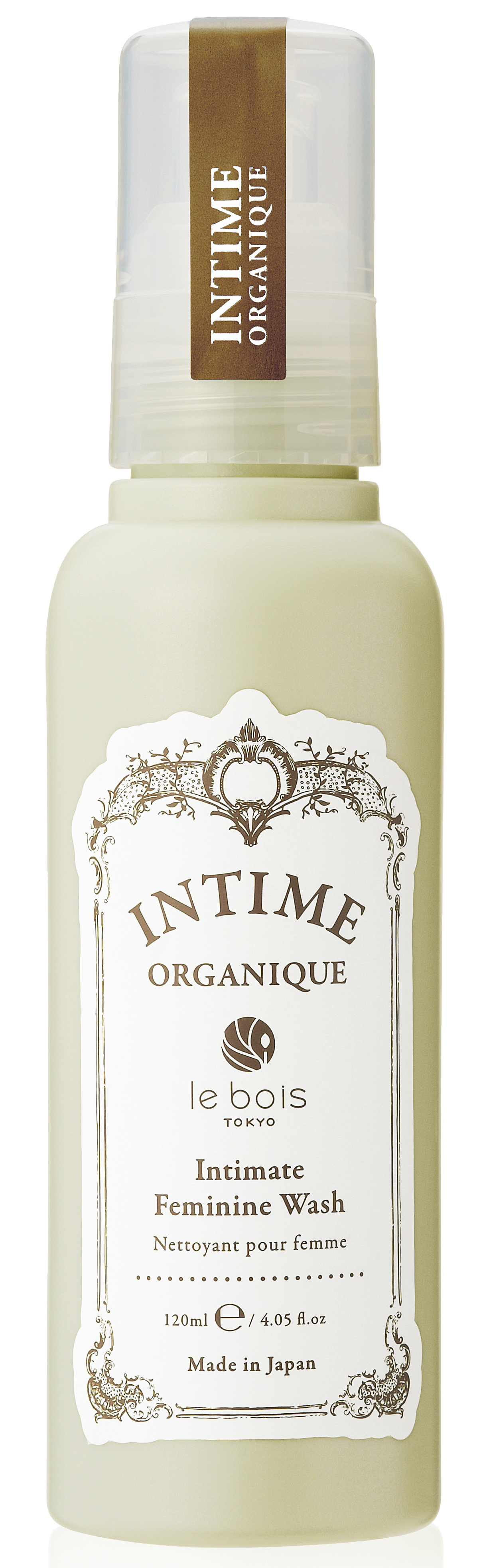 INTIME ORGANIQUE Гель очищающий деликатный для интимной гигиены / Intimate Feminine Wash 120 мл - Гели