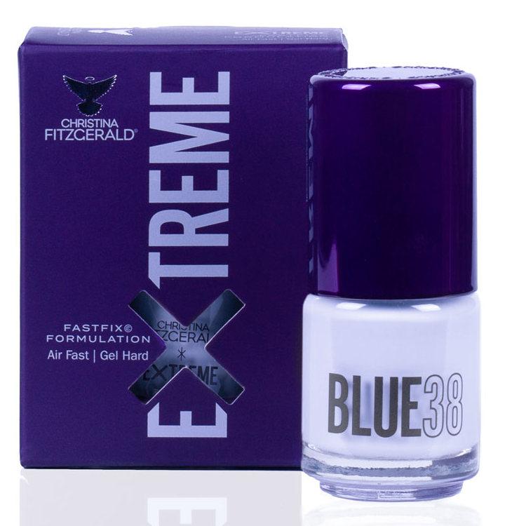Купить CHRISTINA FITZGERALD Лак для ногтей 38 / BLUE EXTREME 15 мл, Синие