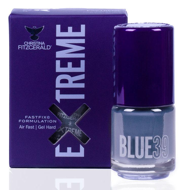Купить CHRISTINA FITZGERALD Лак для ногтей 39 / BLUE EXTREME 15 мл, Синие