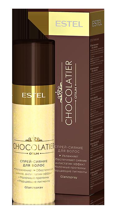 ESTEL PROFESSIONAL Спрей-сияние для волос / CHOCOLATIER 100 мл