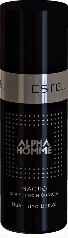 Купить ESTEL PROFESSIONAL Масло для волос и бороды, для мужчин / ALPHA HOMME 50 мл