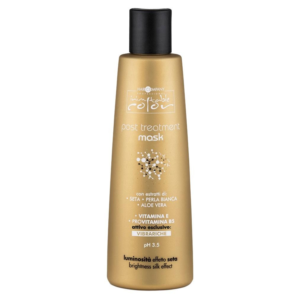 Купить HAIR COMPANY Маска для восстановления структуры волос после химического воздействия / INIMITABLE COLOR Post Treatment Mask 250 мл