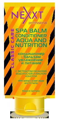 NEXXT professional Кондиционер-бальзам Увлажнение и питание / SPA BALM-CONDITIONER AQUA and NUTRITION 200 мл