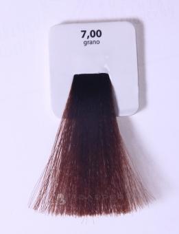 KAARAL 7.00 краска для волос / Sense COLOURS 100млКраски<br>7.00 интенсивный блондин (зерно) Перманентные красители. Классический перманентный краситель бизнес класса. Обладает высокой покрывающей способностью. Содержит алоэ вера, оказывающее мощное увлажняющее действие, кокосовое масло для дополнительной защиты волос и кожи головы от агрессивного воздействия химических агентов красителя и провитамин В5 для поддержания внутренней структуры волоса. При соблюдении правильной технологии окрашивания гарантировано 100% окрашивание седых волос. Палитра включает 93 классических оттенка. Способ применения: Приготовление: смешивается с окислителем OXI Plus 6, 10, 20, 30 или 40 Vol в пропорции 1:1 (60 г красителя + 60 г окислителя). Суперосветляющие оттенки смешиваются с окислителями OXI Plus 40 Vol в пропорции 1:2. Для тонирования волос краситель используется с окислителем OXI Plus 6Vol в различных пропорциях в зависимости от желаемого результата. Нанесение: провести тест на чувствительность. Для предотвращения окрашивания кожи при работе с темными оттенками перед нанесением красителя обработать краевую линию роста волос защитным кремом Вaco. ПЕРВИЧНОЕ ОКРАШИВАНИЕ Нанести краситель сначала по длине волос и на кончики, отступив 1-2 см от прикорневой части волос, затем нанести состав на прикорневую часть. ВТОРИЧНОЕ ОКРАШИВАНИЕ Нанести состав сначала на прикорневую часть волос. Затем для обновления цвета ранее окрашенных волос нанести безаммиачный краситель Easy Soft. Время выдержки: 35 минут. Корректоры Sense. Используются для коррекции цвета, усиления яркости оттенков, создания новых цветовых нюансов, а также для нейтрализации нежелательных оттенков по законам хроматического круга. Содержат аммиак и могут использоваться самостоятельно. Оттенки: T-AG - серебристо-серый, T-M - фиолетовый, T-B - синий, T-RO - красный, T-D - золотистый, 0.00 - нейтральный. Способ применения: для усиления или коррекции цвета волос от 2 до 6 уровней цвета корректоры добавляются в краситель по Прави