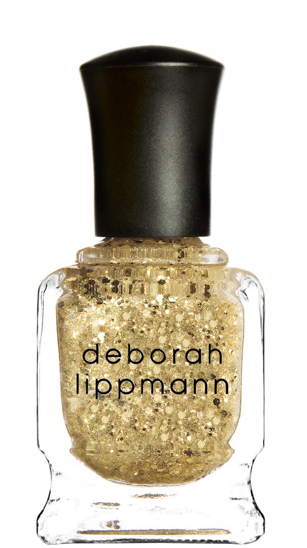 DEBORAH LIPPMANN Лак для ногтей Boom Boom Pow 15млЛаки<br>Гламурный блеск золота &amp;#40;текстура - глиттер&amp;#41;, содержит частички с 24-каратным золотом.<br><br>Цвет: Желтые<br>Виды лака: С блестками