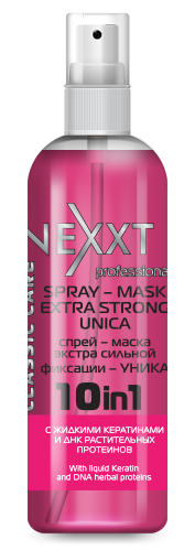 "NEXXT professional Спрей-маска экстра сильной фиксации ""Уника"" / SPRAY-MASK EXTRA STRONG UNICA 250мл"