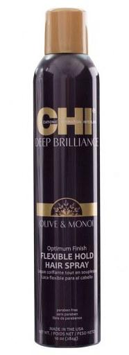 CHI Лак для волос эластичной фиксации Оптимальный результат / DEEP BRILLIANCE 284 г