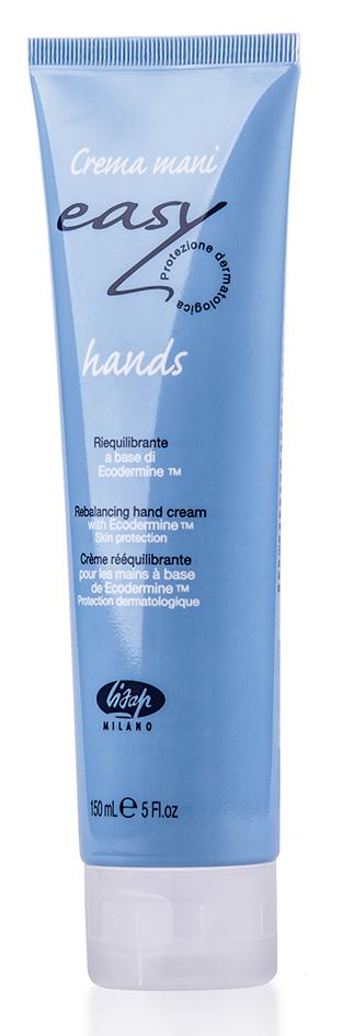 LISAP MILANO Крем увлажняющий для рук / Easy Hands Cream 150млКремы<br>Профессиональный крем специально разработан для мастеров-парикмахеров, имеющих частый контакт с водой и химическими агентами. Активные ингредиенты в составе крема эффективно восстанавливают и смягчают кожу рук. Обладает антисептическим действием. Обеспечивает защиту кожи рук и ногтей при работе в салоне. Быстро впитывается, не дает ощущения жирности. Активные ингредиенты: витамины E, В5, масло косточек персика, абрикоса и винограда. Способ применения: наносить крем на чистую кожу рук утром и вечером, а также каждый раз до и после контакта рук с вредными раздражителями или водой.<br><br>Вид средства для тела: Увлажняющий