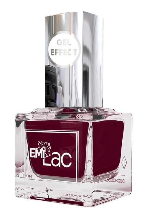 Купить E.MI 122 лак ультрастойкий для ногтей, Борджия / Gel Effect 9 мл, Красные