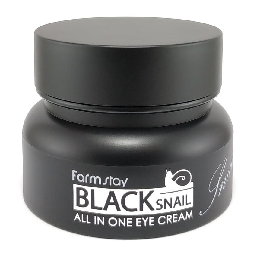 Купить FARMSTAY Крем с муцином черной улитки для глаз / Black Snail 50 мл