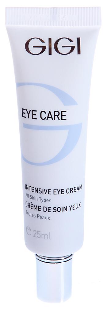 GIGI Крем интенсивный для век и губ / Intensive Cream EYE CARE 20млКремы<br>Насыщенный крем для век легко впитывается благодаря своему составу. Действие: Интенсивно ухаживает за этой уязвимой зоной, заметно улучшает состояние кожи, устраняет отечность и темные круги под глазами, корректирует возрастные изменения, разглаживает средние и глубокие морщины, устраняет сеть мелких морщинок. Входящий в состав витамин Е оказывает мощное антиоксидантное действие, также разглаживает морщины, сохраняет влагу, улучшает структуру кожи. Масла Ши, шиповника, сквален, аллантоин питают, смягчают, предупреждают раздражение, стимулируют воспроизводство иммунных клеток. Активные ингредиенты: Haloxyl, Pepha-Tight, Regu-Age, гидролизированный протеин рисовых отрубей, протеины сои, молочная кислота, мочевина, витамин Е, масло ши, масло шиповника, сквален, оксидоредуктазы, пантенол (провитамин В5), аллантоин, пептидный комплекс. Способ применения: Наносить тонким слоем на очищенную кожу век и губ круговыми движениями утром и/или вечером.<br><br>Объем: 20