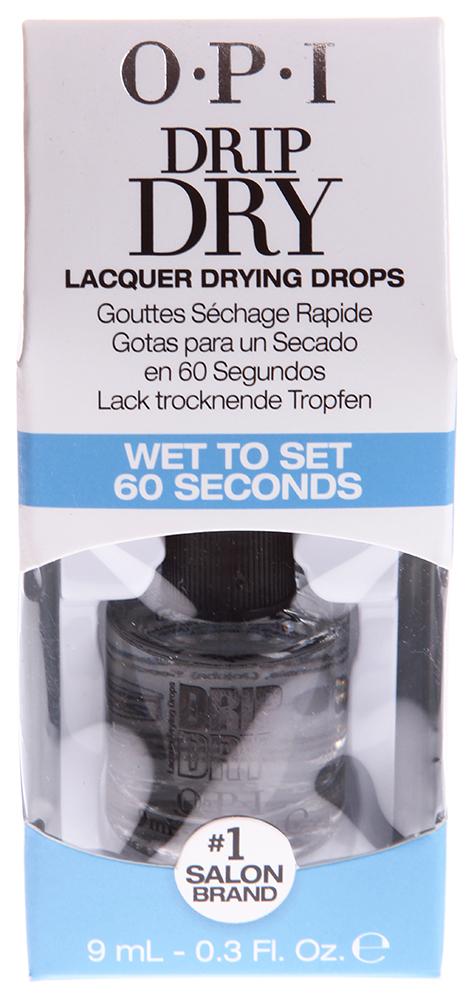 OPI Капли-сушка для лака / Drip Dry Drops 9млСушки<br>Средство для сушки лака с двойным действием в каплях с витамином Е и маслом жожоба. Ухаживает за кутикулой и закрепляет лак. Способ применения: Нанесите 1-2 капли на каждый ноготь поверх средства для закрепления лака.<br><br>Объем: 9