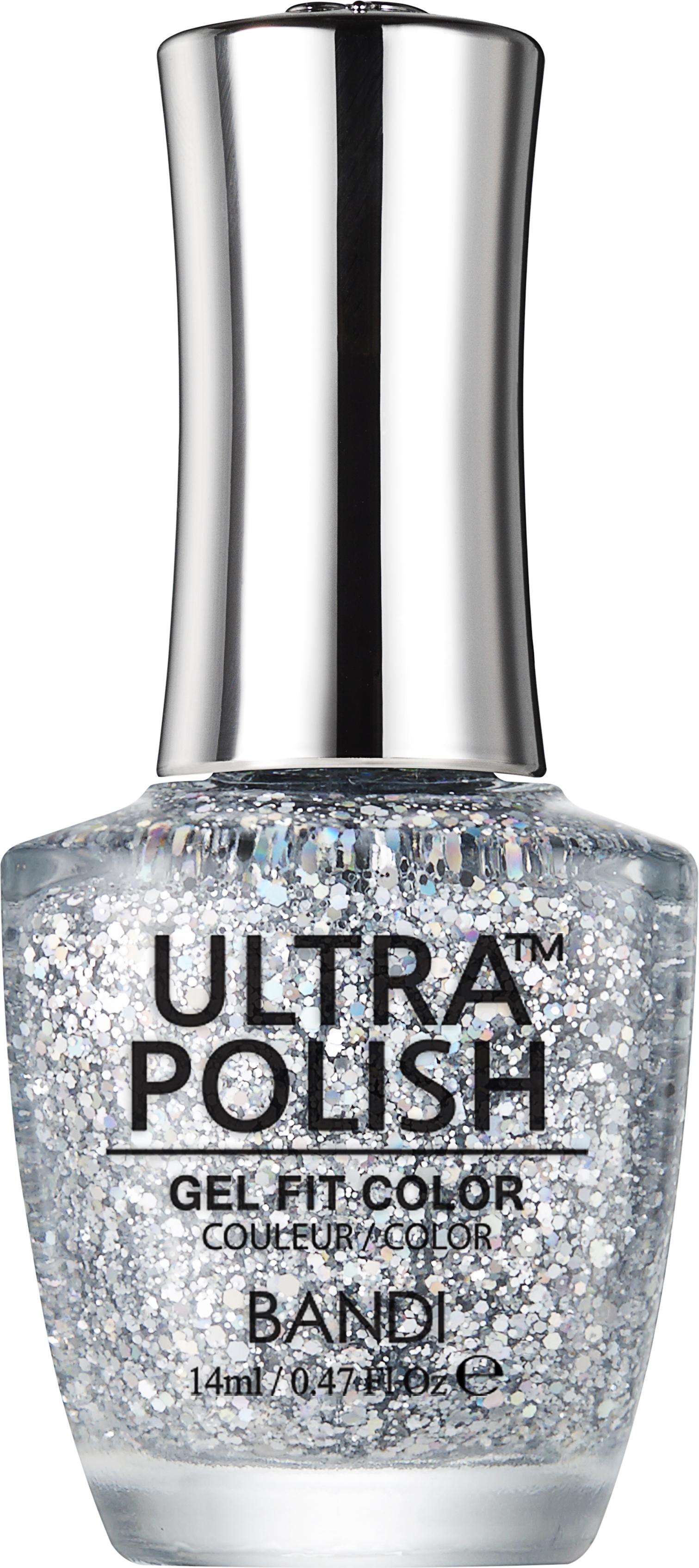 Купить BANDI UP907 ультра-покрытие долговременное цветное для ногтей / ULTRA POLISH GEL FIT COLOR 14 мл, Серые