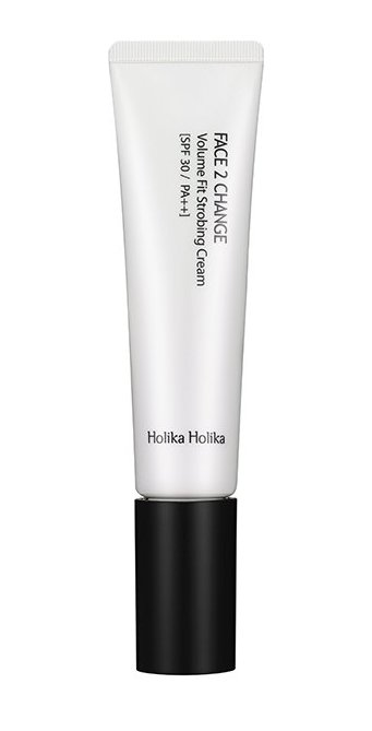 HOLIKA HOLIKA Крем-база с эффектом сияния Фейс ту чейндж SPF30 PA++ / Face 2 Change Volume Fit Strobing Cream 35мл
