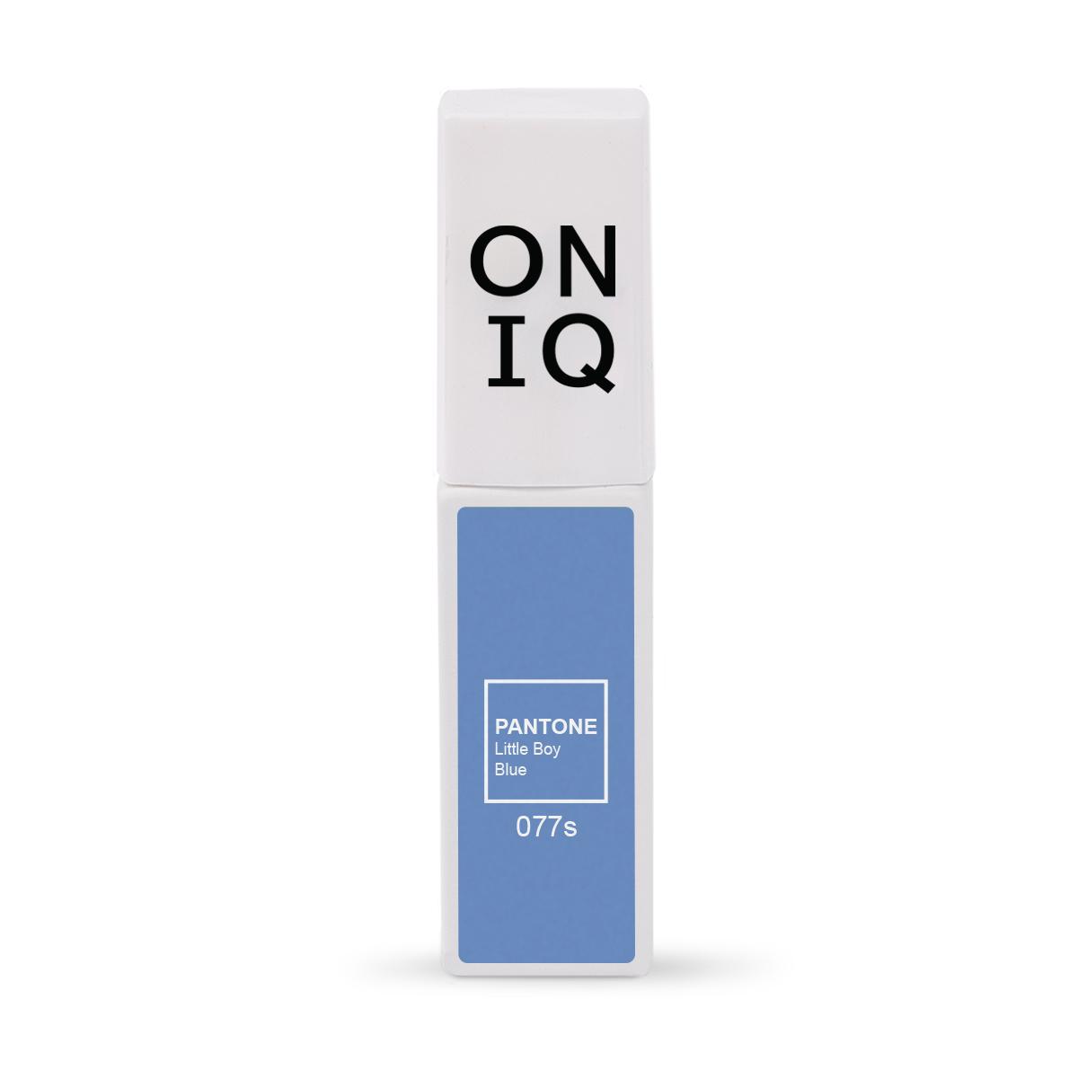 ONIQ Гель-лак для покрытия ногтей, Pantone: Little boy blue, 6 мл -  Гель-лаки
