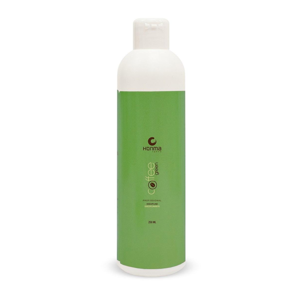 HONMA TOKYO Система био-протеиновая для выпрямления волос всех типов, одношаговое аминокислотное / Coffee Green 250 мл - Кератин