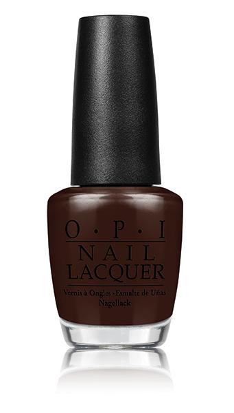 OPI Лак для ногтей ShhIts Top Secret / Washington DC 15млЛаки<br>Горький шоколад, плотный глянец<br><br>Цвет: Коричневые