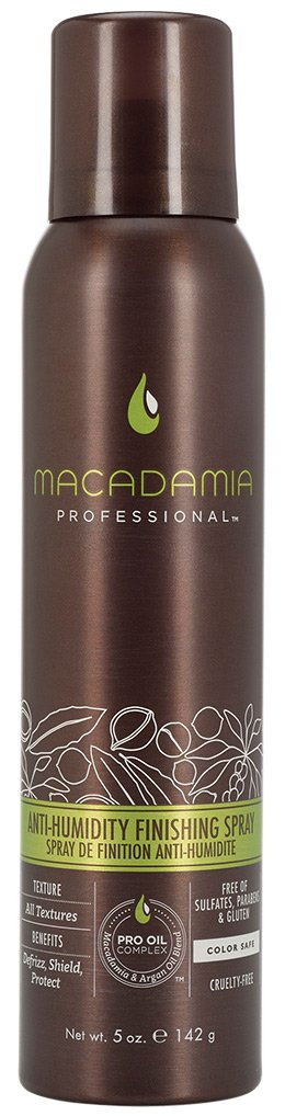 MACADAMIA PROFESSIONAL Финиш-спрей Защита от влаги / Anti Humidity Finishing Spray 142гр ректификованный спирт купить г е