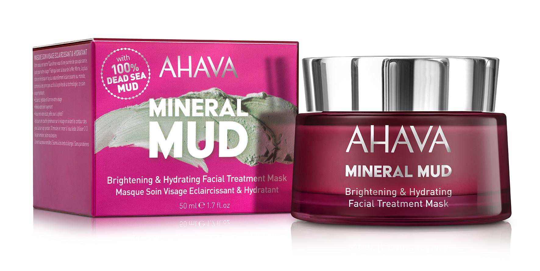AHAVA Маска увлажняющая придающая сияние для лица / Mineral Mud Masks 50 мл
