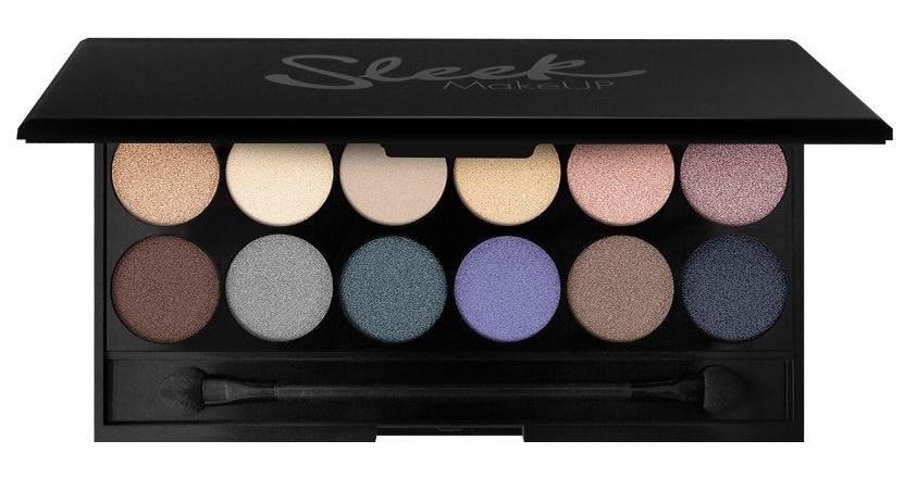 SLEEK MakeUP Палетка теней для век, 12 тонов / Storm Eyeshadow Palette I-Divine 119 г - Тени