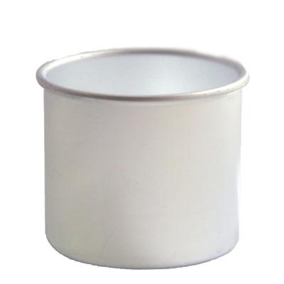 BEAUTY IMAGE Баночка алюминиевая на 400грБаночки<br>Баночка для разогрева горячего воска (в дисках и гранулах), парафина или парафанго. Очень удобна в работе. Подходит для нагревателей BEAUTY IMAGE. Объем 400 мл.<br>