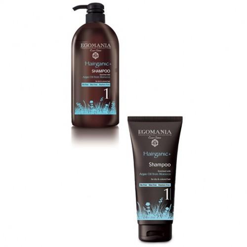 EGOMANIA Шампунь с маслом аргана для сухих и окрашенных волос / HAIRGANIC 250мл