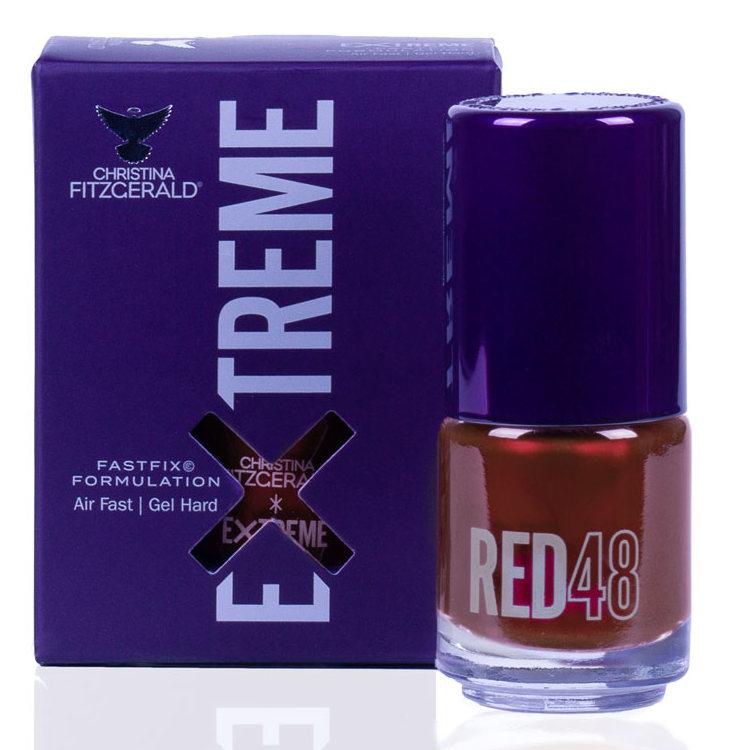 Купить CHRISTINA FITZGERALD Лак для ногтей 48 / RED EXTREME 15 мл, Красные
