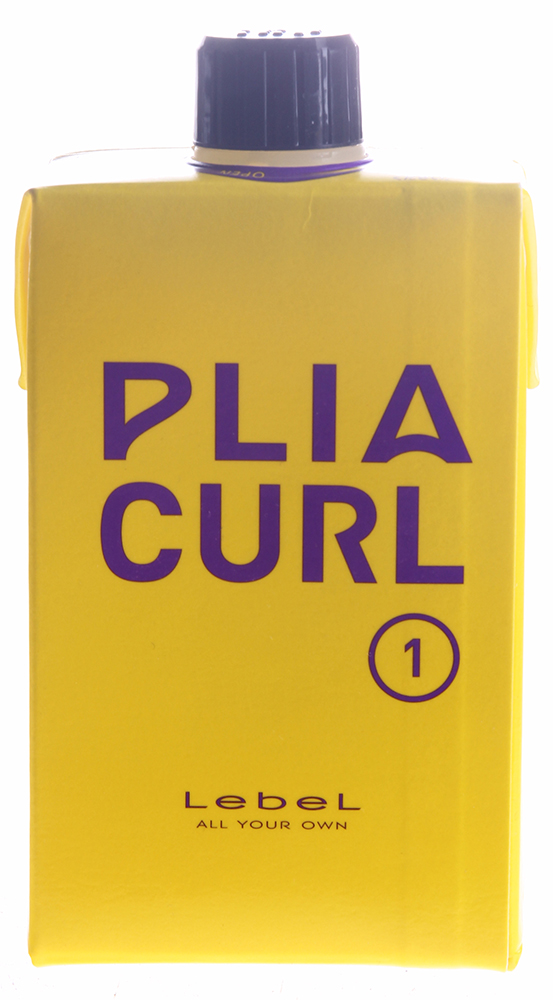 LEBEL Лосьон для химической завивки волос средней жесткости шаг 1 / PLIA CURL 1 400 мл