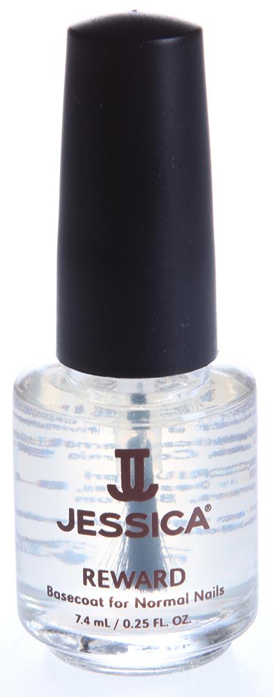 JESSICA Покрытие базовое с мультивитаминами для нормальных ногтей / Reward 7,4мл~