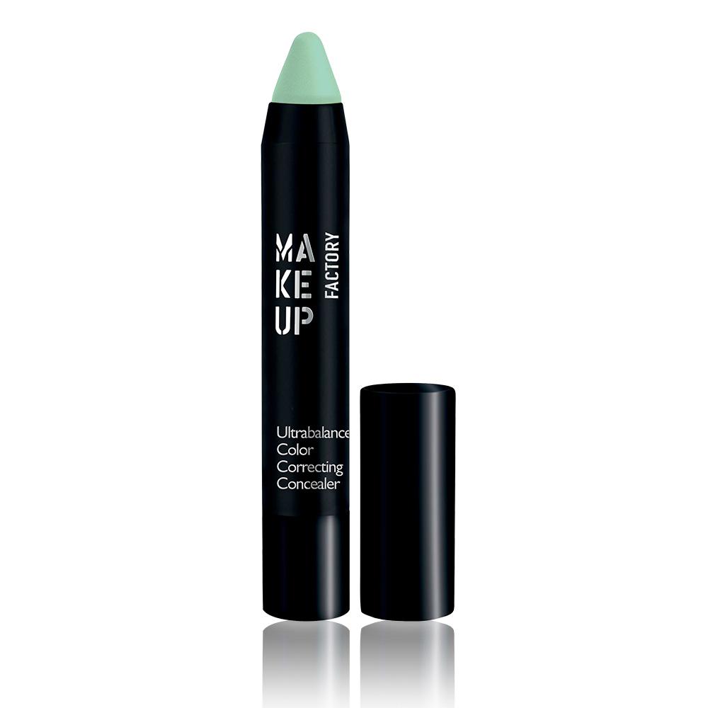 MAKE UP FACTORY Карандаш маскирующий, 10 зеленый / Ultrabalance Color Correcting Concealer 2,9 г