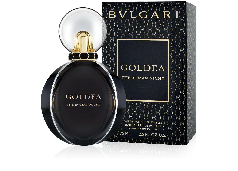 Купить BVLGARI Вода парфюмерная женская Bvlgari Goldea The Roman Night 75 мл