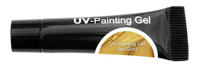 CND Гель-краска УФ / OH UV-Painting Gel Van Gold 5мл хондроитин 5% 30г гель