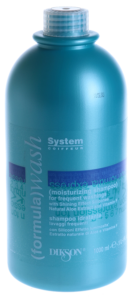 DIKSON Шампунь увлажняющий для частого мытья / MOISTURIZING SHAMPOO WASH 1000мл