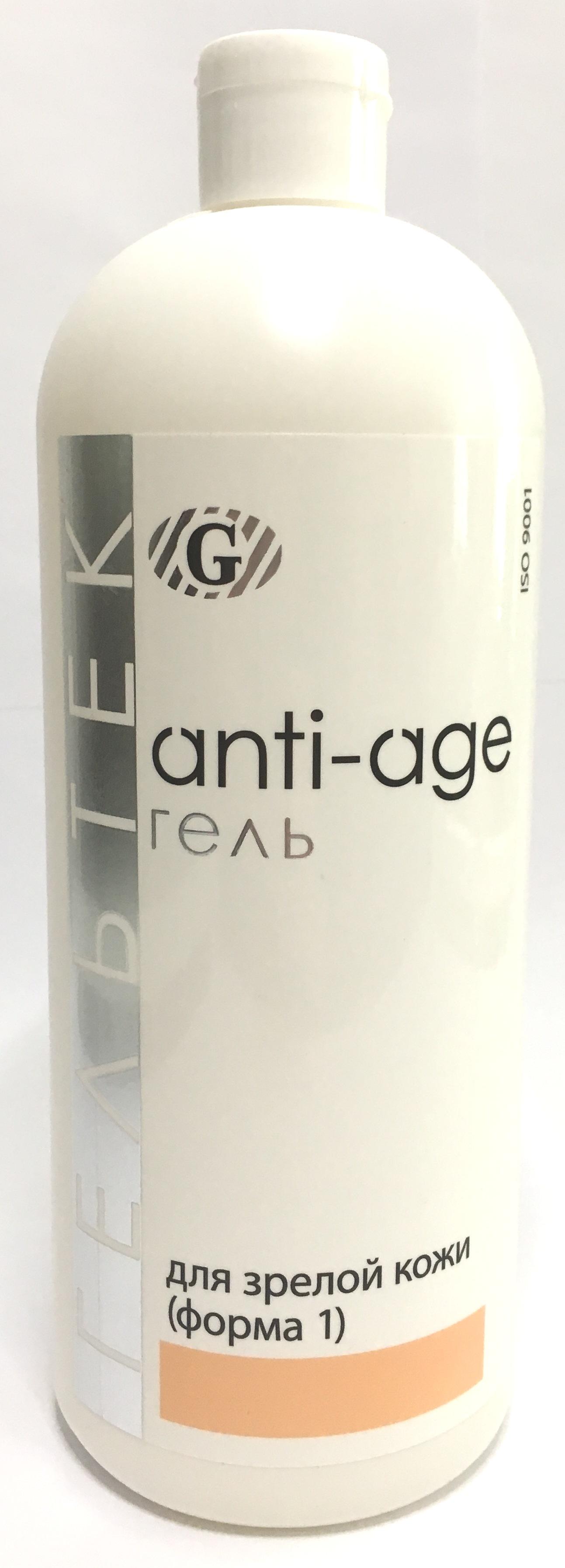 ГЕЛЬТЕК Гель косметический гидратирующий для зрелой кожи, форма 1 / Anti-Age 1000 г - Гели
