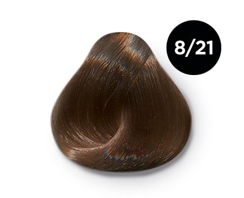 Купить OLLIN PROFESSIONAL 8/21 краска для волос, светло-русый фиолетово-пепельный / OLLIN COLOR 100 мл
