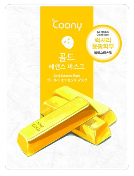 ANNAGASPI ����� � ��������� ������ / Gold Essence Mask 23��