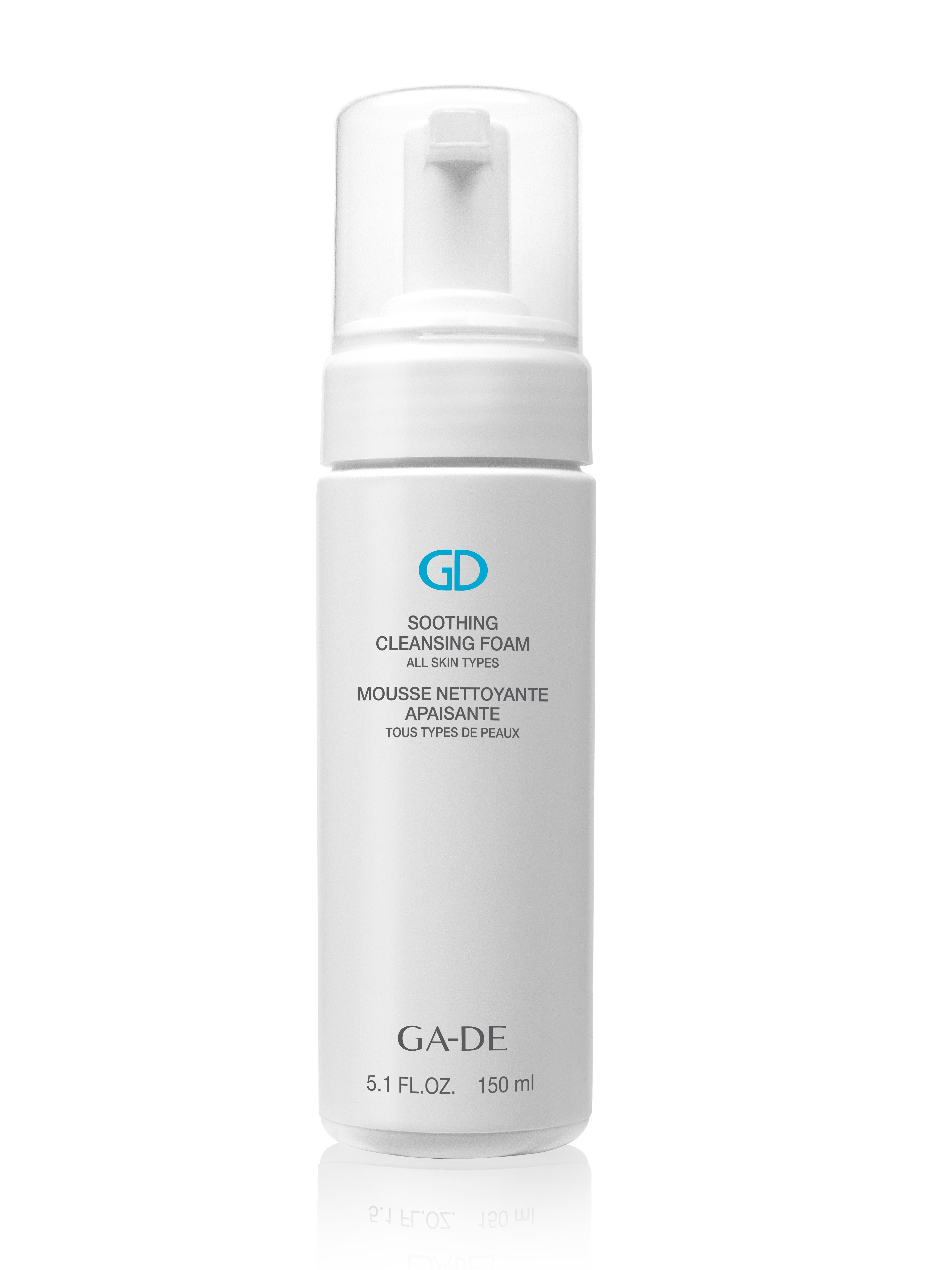 GA-DE Пенка очищающая и успокаивающая для всех типов кожи / SOOTHING CLEANSING FOAM 150 мл