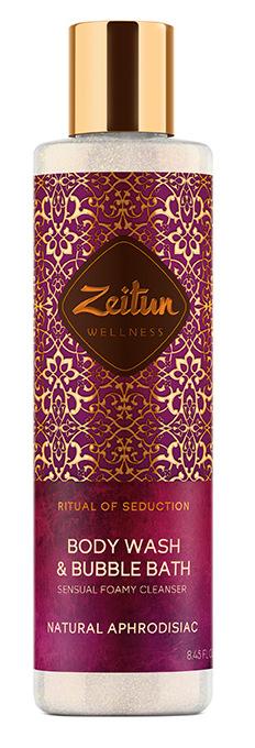 Купить ZEITUN Гель для ванны и душа Ритуал соблазна / Seduction 250 мл