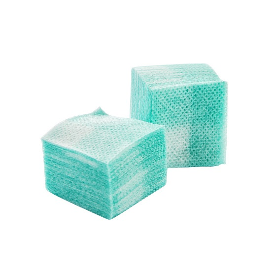 Купить IRISK PROFESSIONAL Салфетки безворсовые 4 х 4 см, 04 зеленые 750 шт