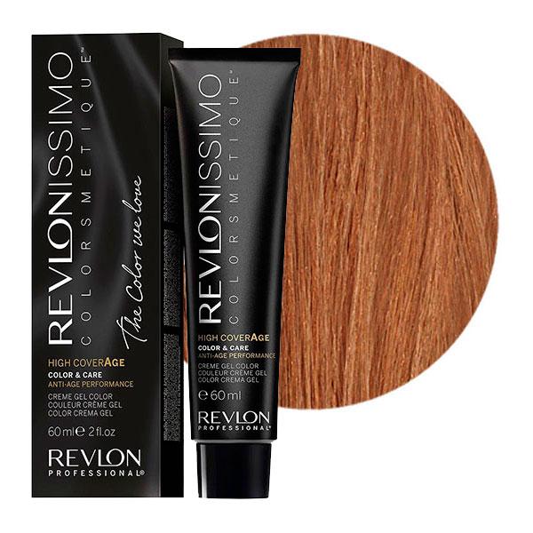 Купить REVLON Professional 7-23 краска для волос, перламутровый блондин / RP REVLONISSIMO COLORSMETIQUE High Coverage 60 мл, Блонд