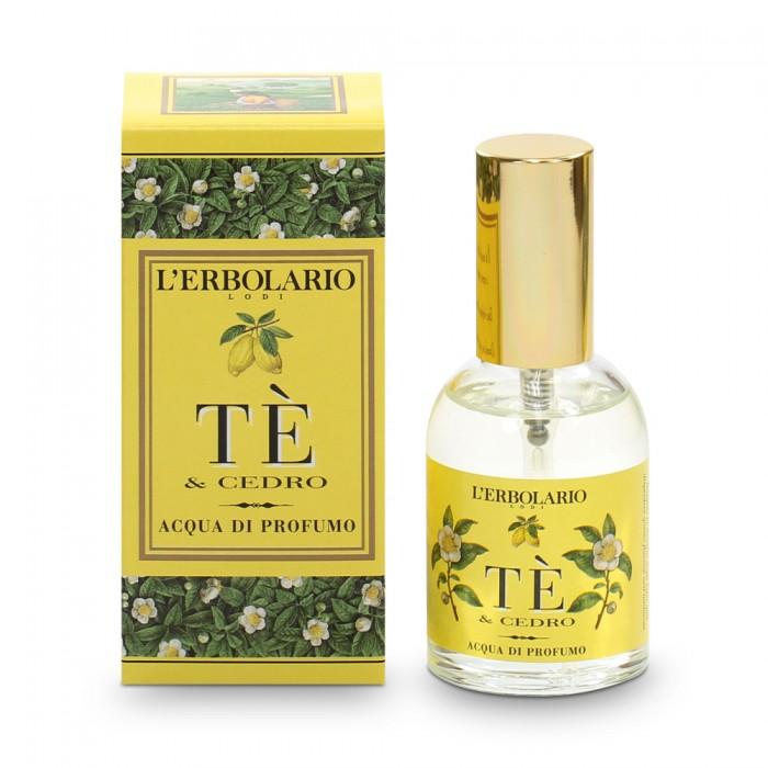 LERBOLARIO Вода парфюмированная Чай и цитрон 50 мл