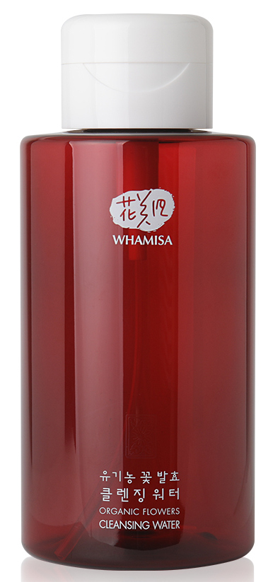 WHAMISA Вода очищающая на основе экстракта алоэ и цветочных ферментов 500 мл.