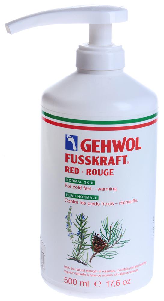 GEHWOL Бальзам красный, нормальная кожа (флакон с дозатором) 500мл