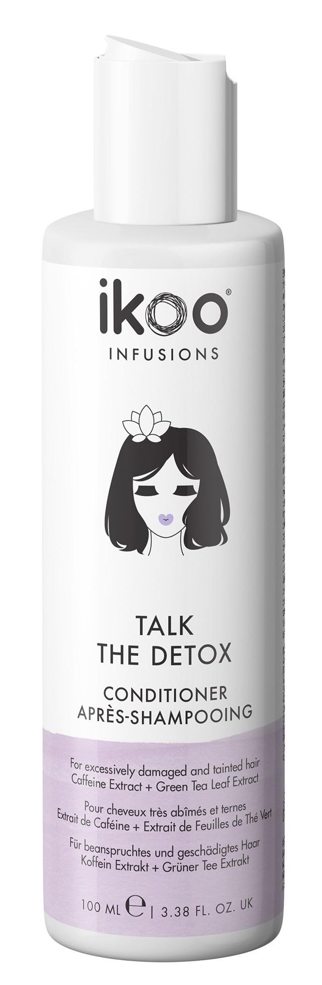Купить IKOO Кондиционер для волос Курс по детоксу / Conditioner Talk the Detox 100 мл