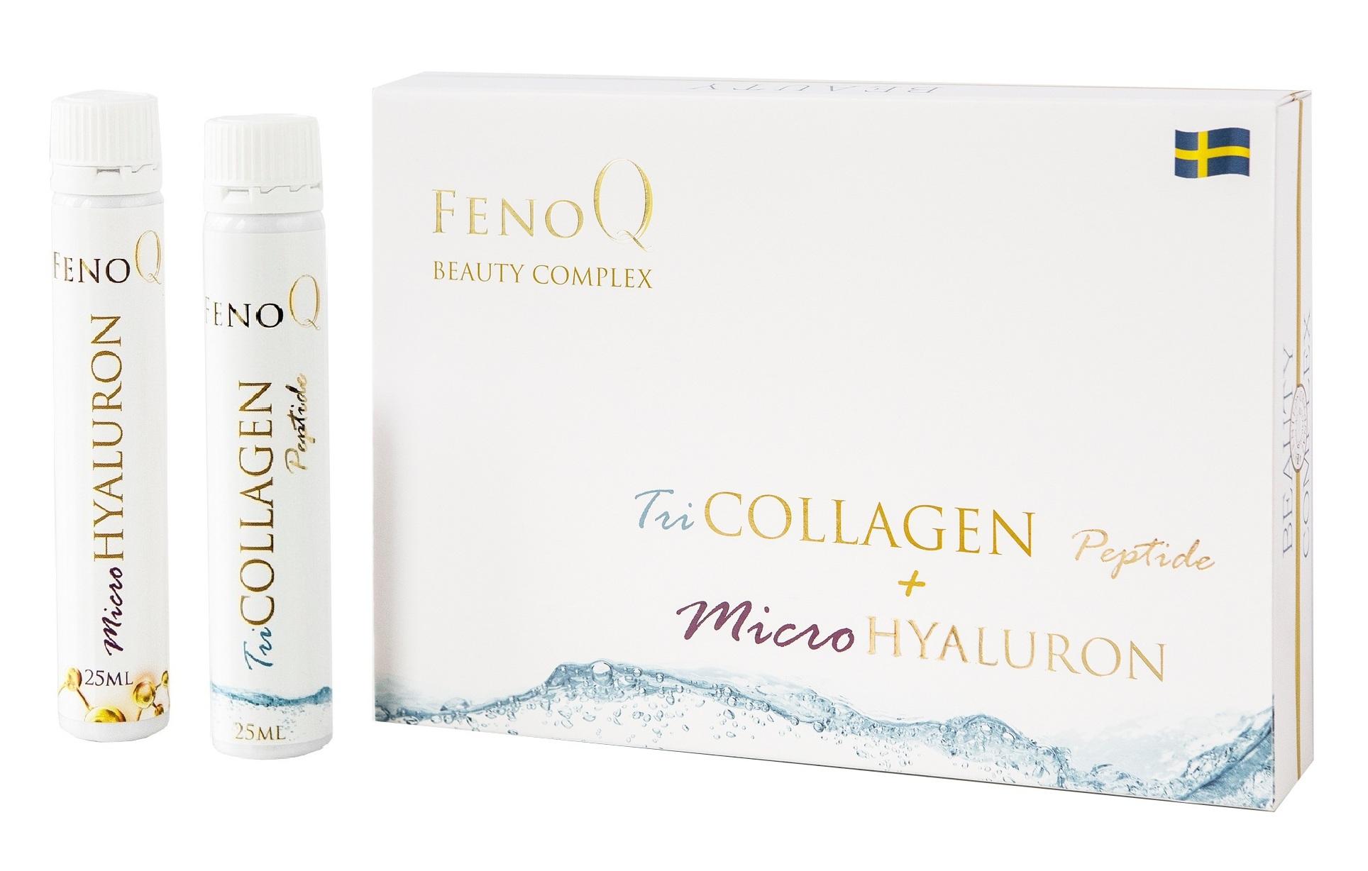 Купить FENOQ TRICOLLAGEN Добавка биологически активная Фенок Бьюти комплекс / FenoQ Beauty Complex 28*25 мл