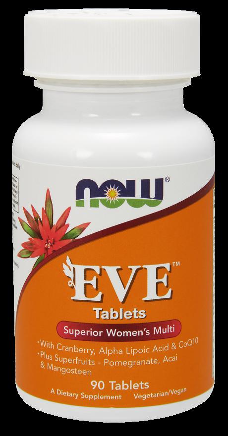 NOW FOODS Ева, таблетки 1530 мг № 90