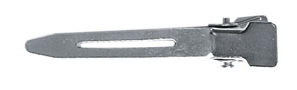 HAIRWAY Зажим HW металлический 45 мм,100шт./уп.