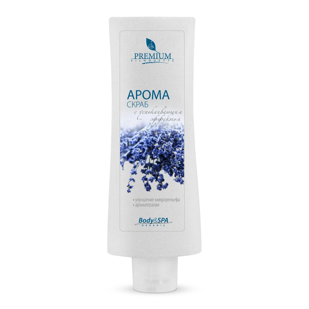 PREMIUM Аромаскраб / Silhouette 200млСкрабы<br>Предназначен для глубокого очищения кожи с признаками целлюлита, профилактики гиперкератоза.. Гладкие полиэтиленовые частицы скраба, не травмируя кожу, удаляют омертвевшие клетки рогового слоя. Активизируется механизм регенерации, улучшается микрорельеф, венозный и лимфатический отток. Активные ингредиенты: эфирные аромамасла: лимона, мандарина, абразив полиэтиленовый. Способ применения: наносить на предварительно очищенную кожу тела массируя, круговыми движениями снизу вверх. Смыть водой, затем нанести Аромамолочко для тела.<br><br>Объем: 200<br>Назначение: Целлюлит