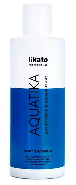 Купить LIKATO PROFESSIONAL Софт-шампунь с коноплей для волос / AQUATIKA 250 мл