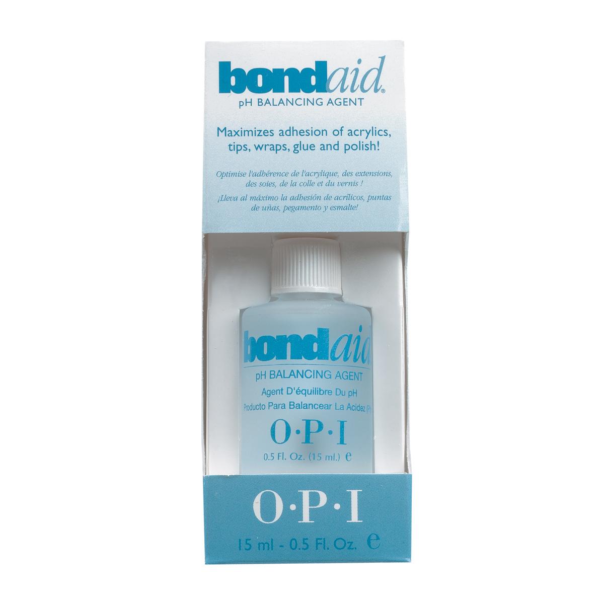 OPI Грунтовка-восстановитель ph баланса ногтя / Bond-Aid 15мл -  Базовые покрытия